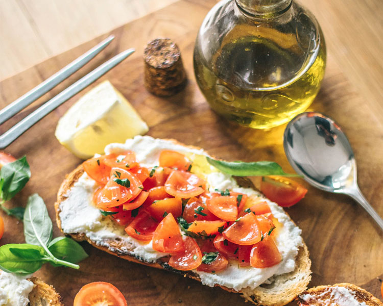 olive oil bruschetta